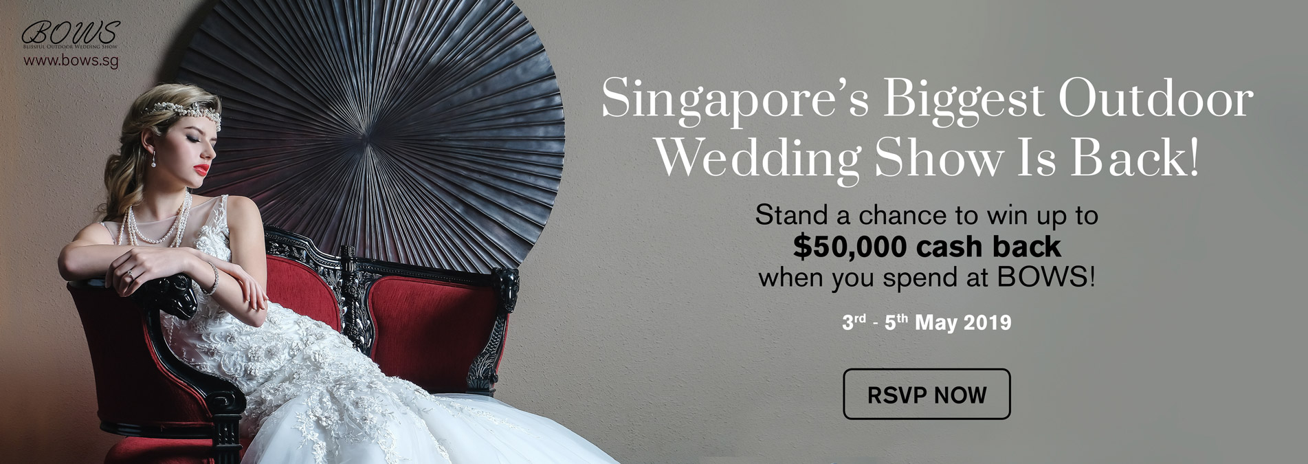 Singapore biggest outdoor wedding show | BOWS