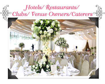 Bows sg | Blissful Outdoor Wedding Show
